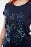 T-shirt motif feux d'artifice - Bleu Tango - 2