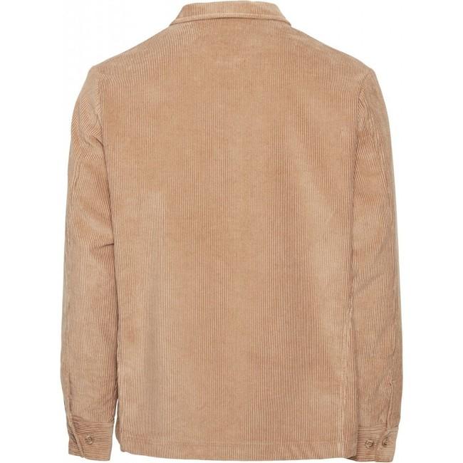 Veste velours beige en coton bio - Knowledge Cotton Apparel num 1
