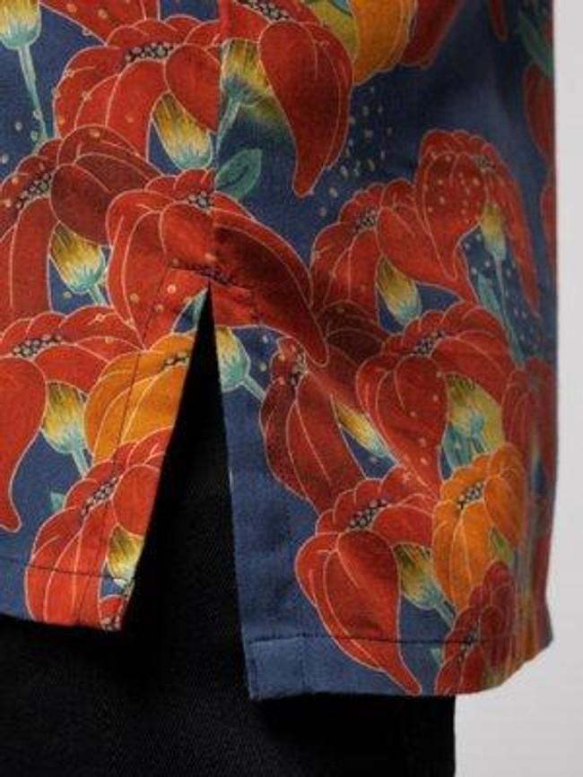 Chemise manches courtes à fleurs en coton bio  - arviid - Nudie Jeans num 5