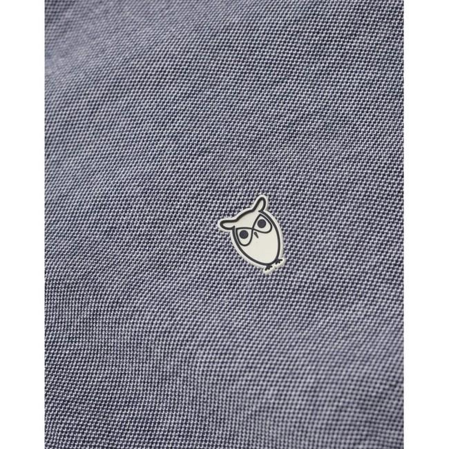 Polo marine en coton bio - rowan - Knowledge Cotton Apparel num 2