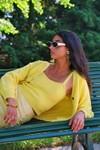Cardigan darcy - happy yellow - Andore Paris - 1