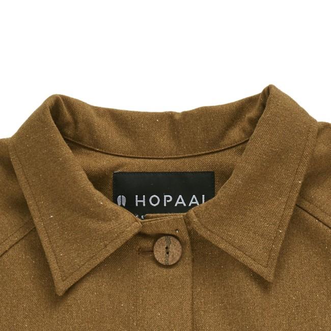 Veste recyclée - la veste authentique camel - Hopaal num 3