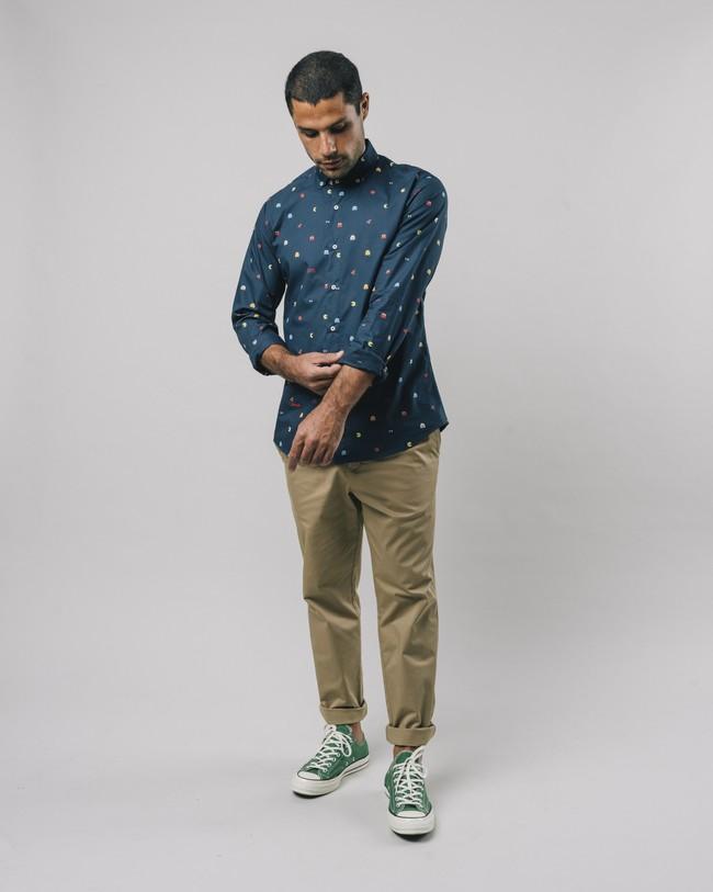 Printed shirt pac-man™ x brava - Brava Fabrics num 3