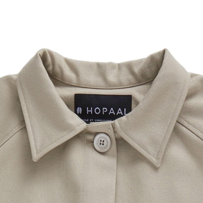 Veste recyclée - la veste authentique beige - Hopaal num 3