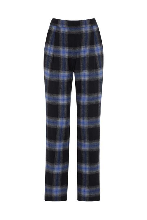 Pantalon carreaux en coton bio - reiko - People Tree num 9