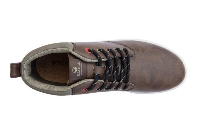 Chaussures recyclées niseko brown - Saola num 3