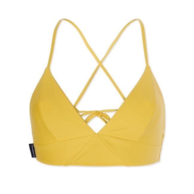 Haut de maillot recyclé - amarelo - Hopaal