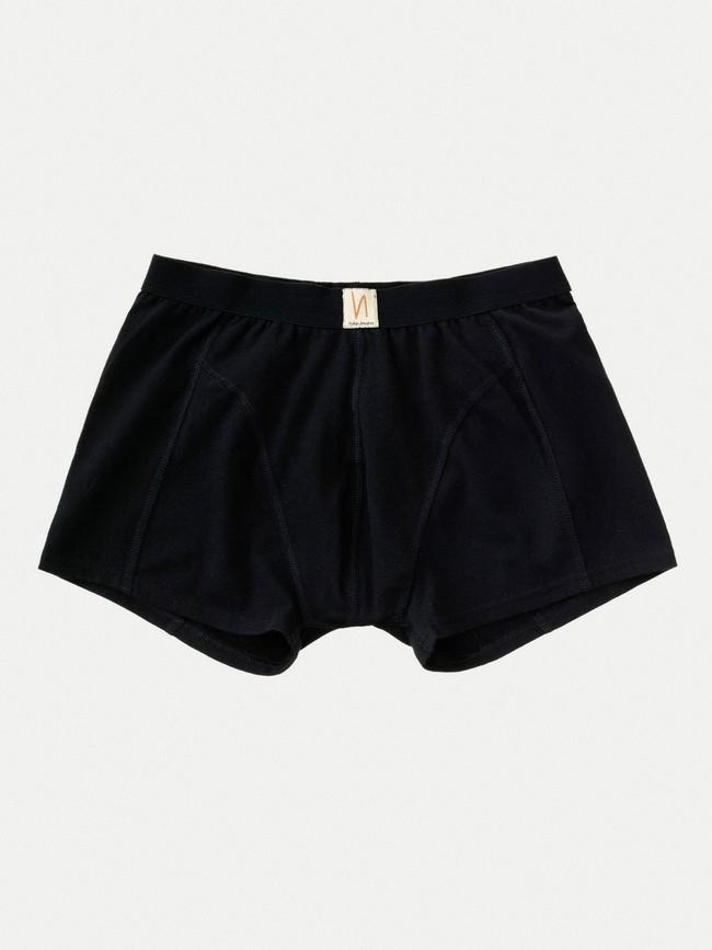 Boxer noir en coton bio - Nudie Jeans