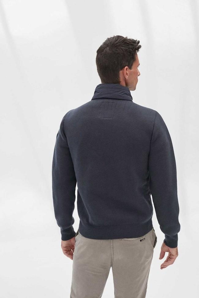 Veste marine bi-matière en polyester et nylon recyclé - waimea - Ecoalf num 1