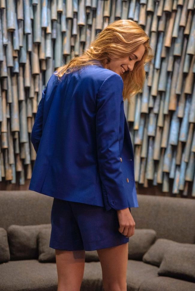 Short tailleur rome bleu royal - 17h10 num 3