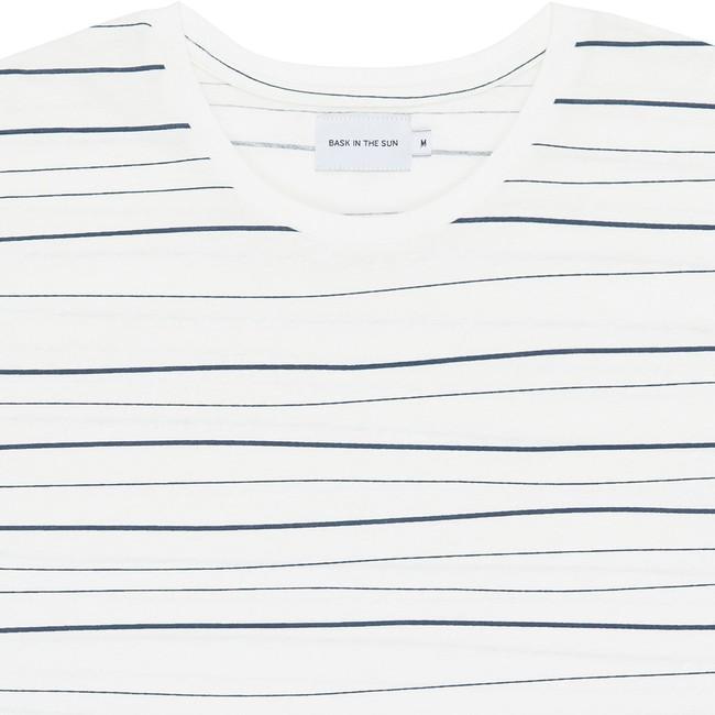 T-shirt en coton bio blue olas - Bask in the Sun num 1