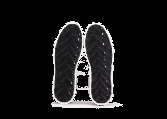 Chaussure en glencoe cuir blanc / suède off-white - Oth num 4
