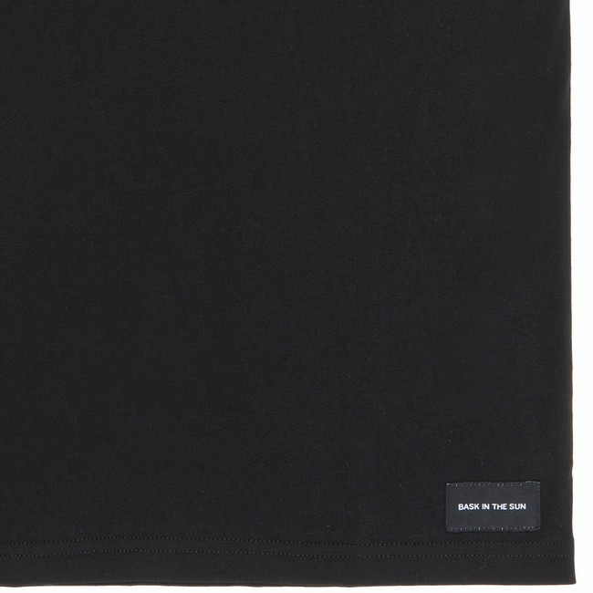 T-shirt en coton bio black salty rodeo - Bask in the Sun num 3