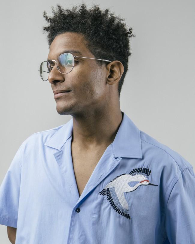Crane for luck essential shirt - Brava Fabrics num 5