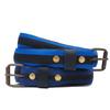 Belt vélo bleue fine - La Vie est Belt - 1