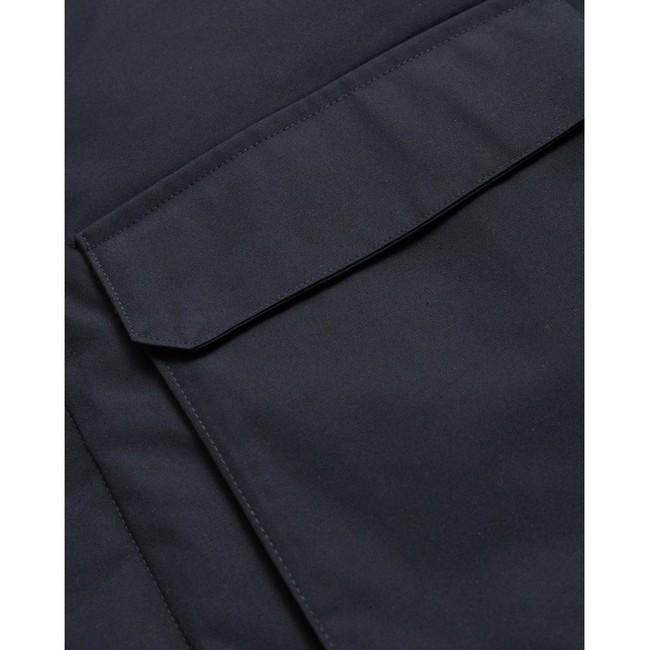 Parka marine en polyester recyclé - Knowledge Cotton Apparel num 5