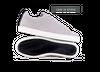 Chaussure en gravière suède gris clair / semelle blanc - Oth - 1