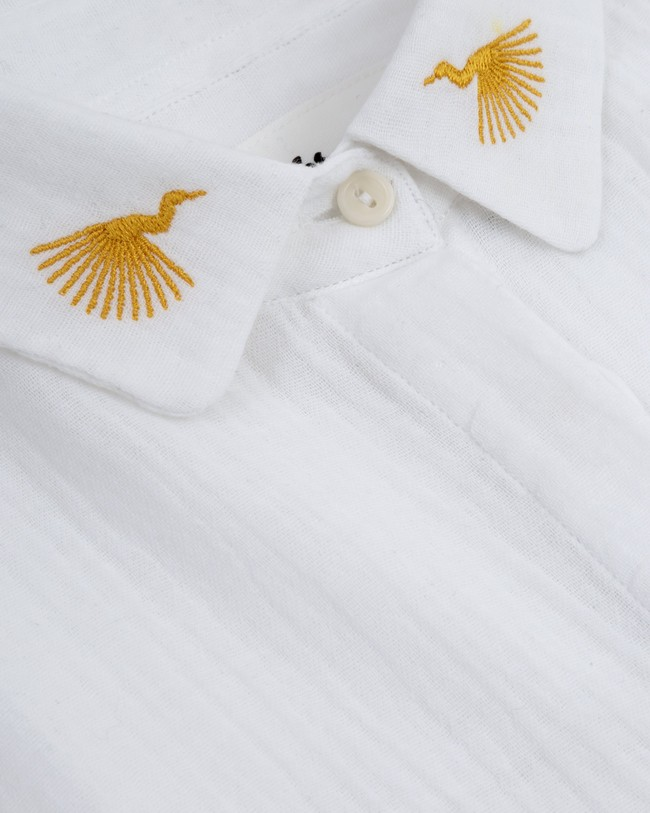 Japanese sky essential blouse - Brava Fabrics num 2