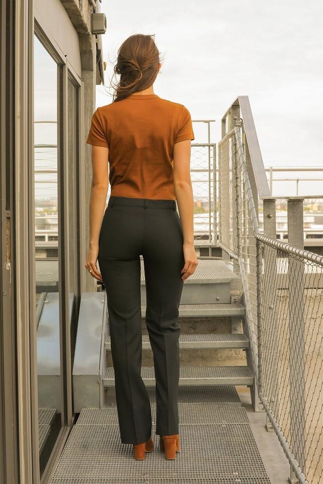 Pantalon tailleur berlin vert profond - 17h10 num 3