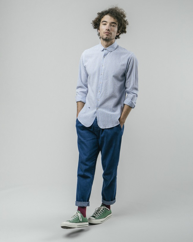 Sakuraya tea essential shirt - Brava Fabrics num 4