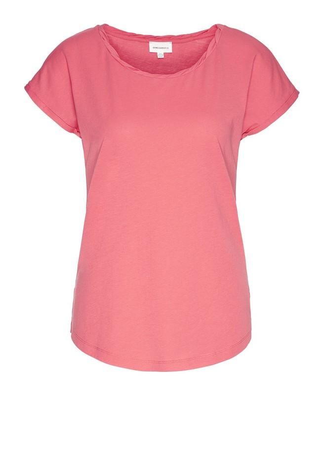 T-shirt uni rose en coton bio - laale - Armedangels num 4