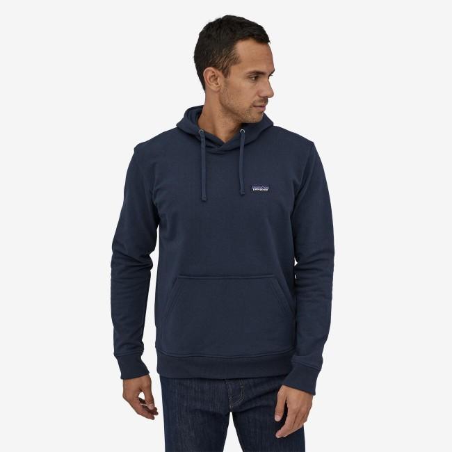 Sweat à capuche gris en polyester et coton recyclé - p6 logo uprisal hoody - Patagonia num 1