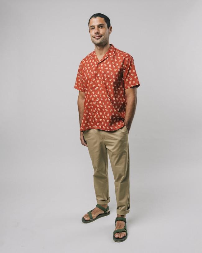 Curry to go printed shirt - Brava Fabrics num 3