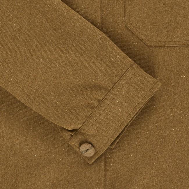 Veste recyclée - la veste authentique camel - Hopaal num 5