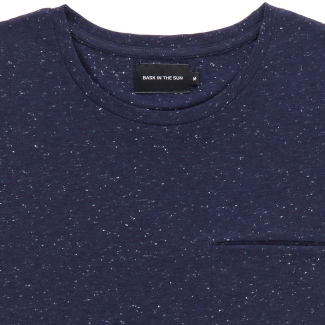 T-shirt en coton bio navy pantxoa - Bask in the Sun num 1