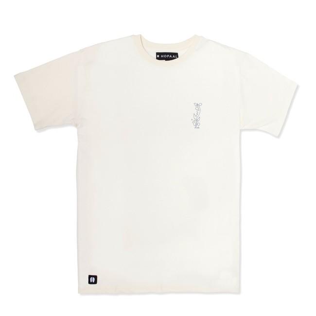 T-shirt recyclé - nils inne beige chiné - Hopaal