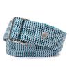 Belt corde triple - tricolore bleue - La Vie est Belt - 1