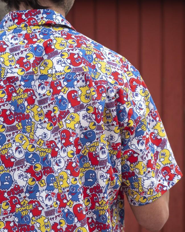 Power up pac-man™ x brava   aloha shirt - Brava Fabrics num 8