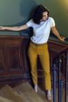 Pantalon tailleur new-york jaune safran - 17h10 - 3