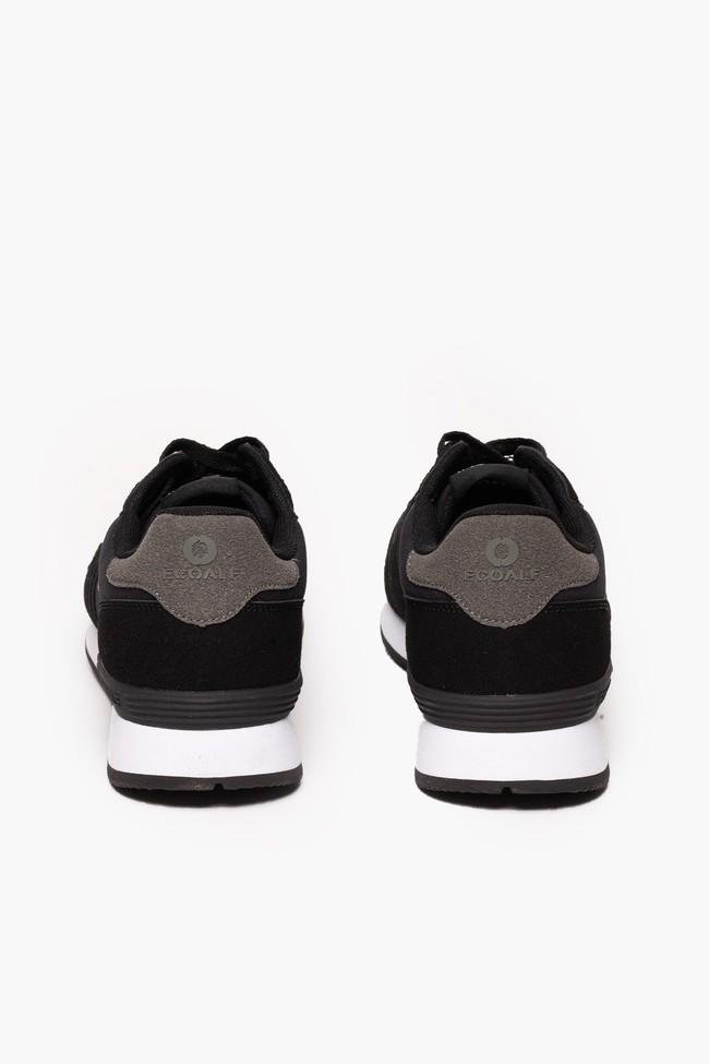 Baskets noires en nylon recyclé - yale sneakers - Ecoalf num 2