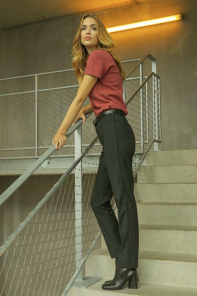 Pantalon tailleur new-york vert profond - 17h10 num 4
