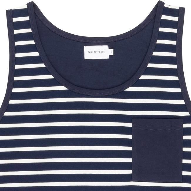 T-shirt navy zarautz - Bask in the Sun num 1