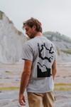T-shirt recyclé - topo leak - Hopaal - 2