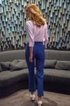 Pantalon tailleur new-york bleu roi - 17h10 - 1