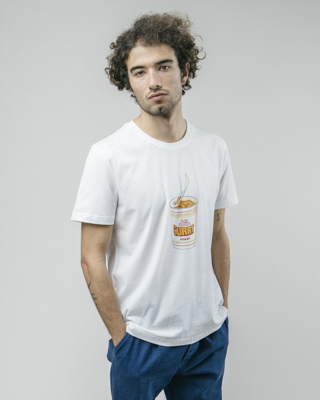 Curry to go t-shirt - Brava Fabrics