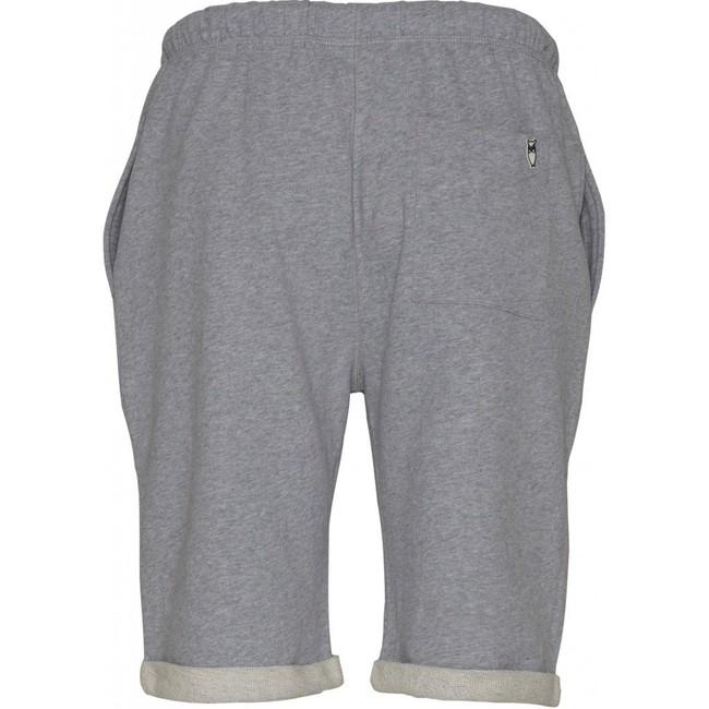 Short jogging gris en coton bio - Knowledge Cotton Apparel num 1