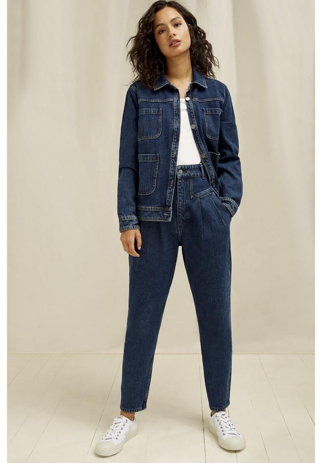 Veste en jean en coton bio - kelia - People Tree num 4