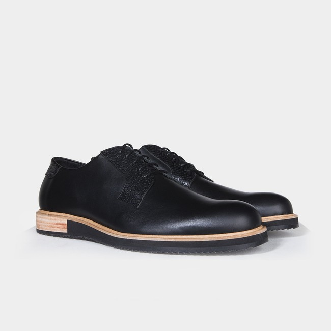 Derbies alpha low - noir - Subtle num 1