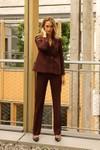 Pantalon tailleur berlin prune - 17h10 - 4