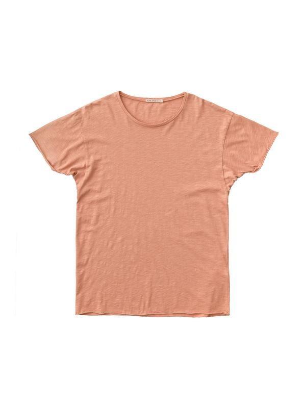 T-shirt ample pêche en coton bio - roger - Nudie Jeans num 3