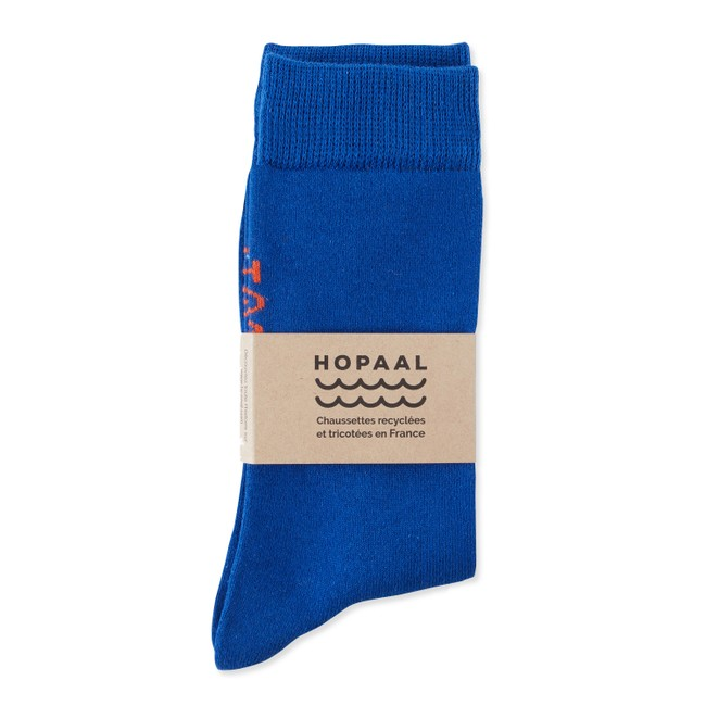 Chaussettes recyclées - admiral step - Hopaal