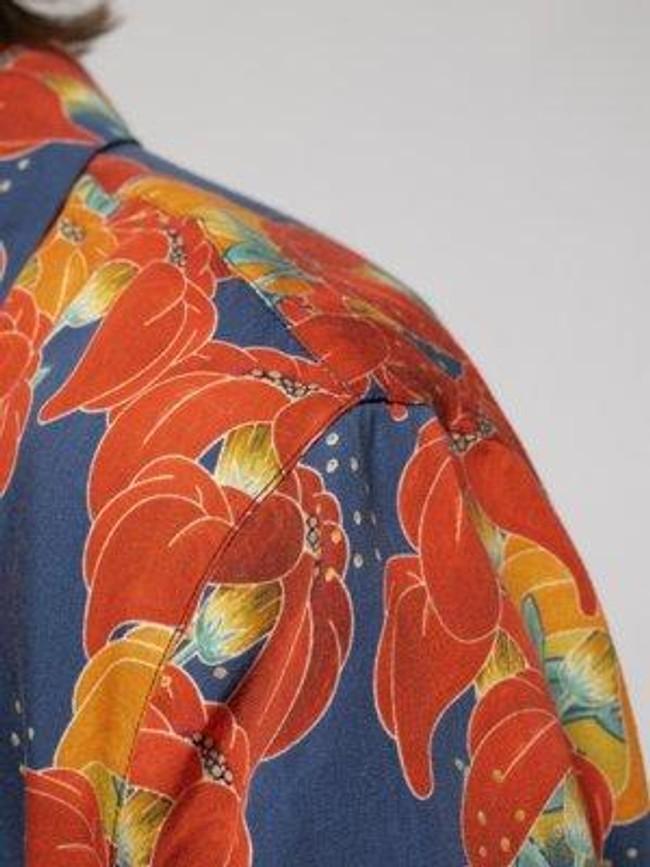 Chemise manches courtes à fleurs en coton bio  - arviid - Nudie Jeans num 4