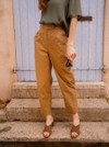 Pantalon marron - Maison Alfa - 1