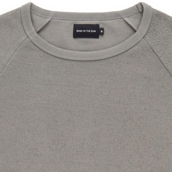 Sweat en coton bio grey danel - Bask in the Sun num 1