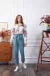 Pantalon krabe blue velvet - Les Récupérables - 1