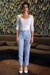 Pantalon tailleur casablanca bleu pastel - 17h10 - 1